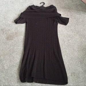 Black Sweater Dress, Lightweight